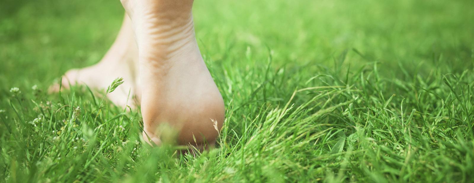 Feet-on-grass